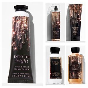 Bath and Body Works Into The Night Bundle